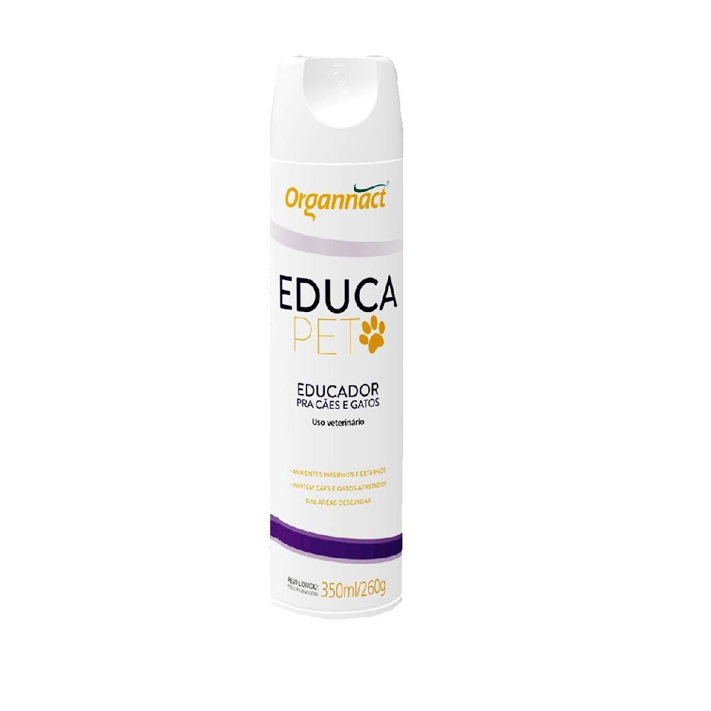 Educador Repelente Organnact Educa Pet 350ml Cada