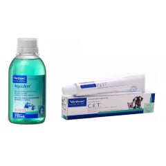 Kit Cet Pasta Enzimatica 70g + Aquadent 250 Ml