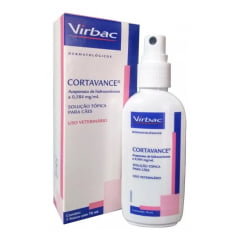 Cortavance Spray Virbac Frasco 76ml Dermatite Alérgica